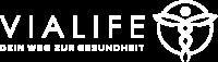 Logo VIALIFE weiß